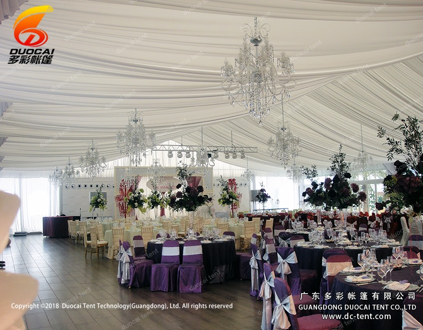 25mx30M wedding activities outdoor big tents with decoration